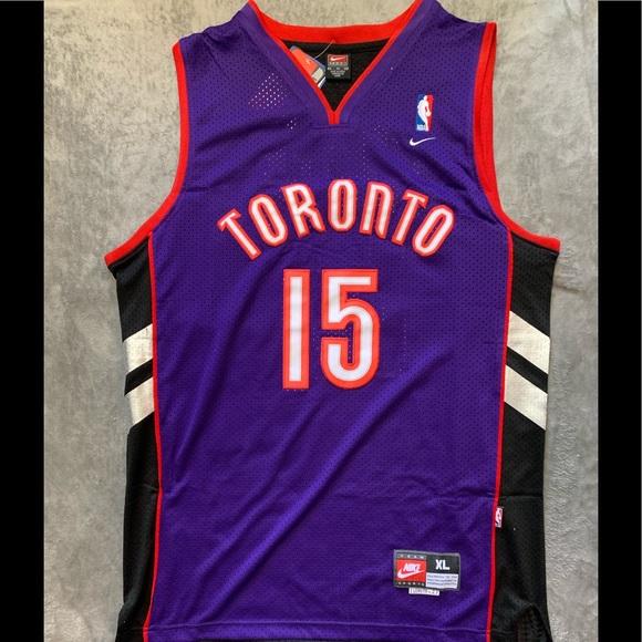 reputable site b0f0d 64ed5 Vince Carter #15 Toronto Raptors Jersey NWT